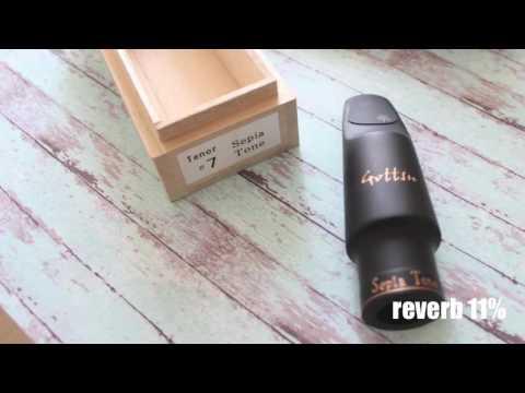 testing Gottsu Sepia Tone #7 tenor mouthpiece