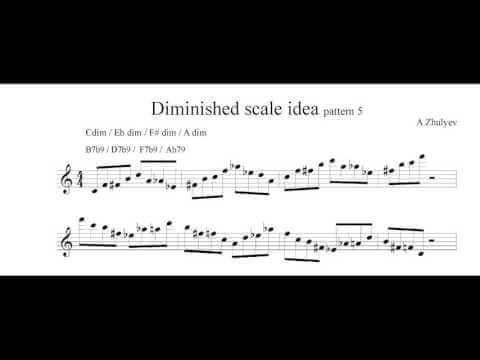 Diminished Scale Idea 5
