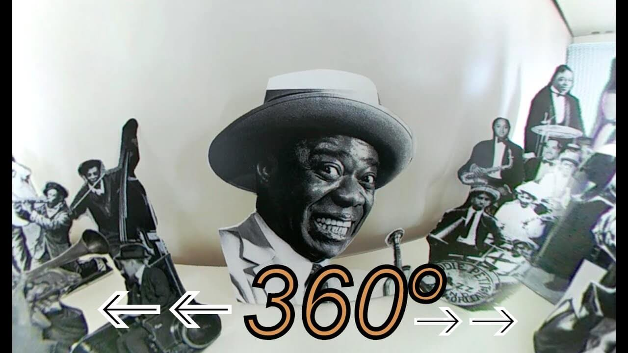 my first 360º video ¨Struttin With Some Barbecue¨ (by Lil Hardin Armstrong /Louis Armstrong )