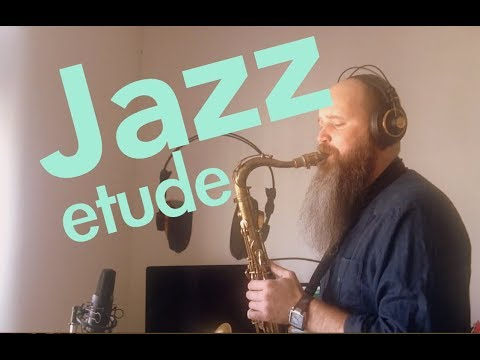 Jazz Etude for Saxophone Bb/Eb