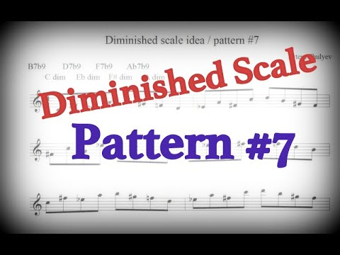 Diminished Scale Pattern #7