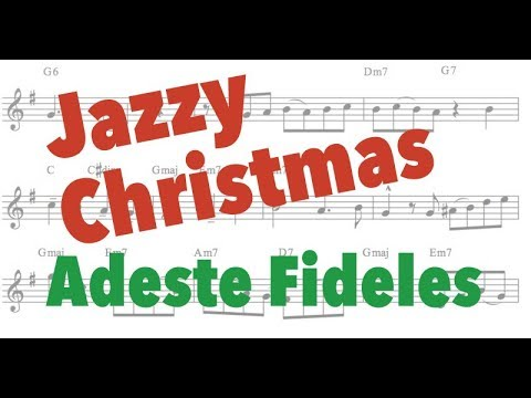 ¨O Come, All Ye Faithful¨  /¨Adeste Fideles ¨(Christmas Song) PDF+backing track