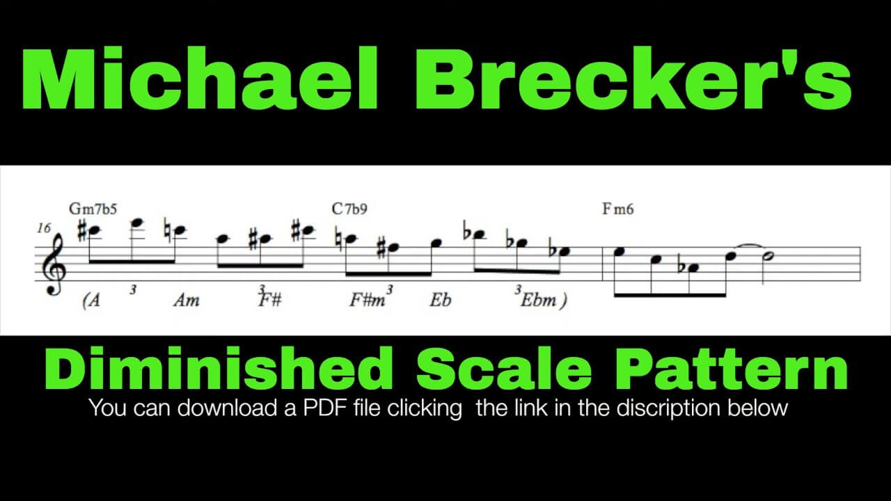 Diminished Scale Pattern #8
