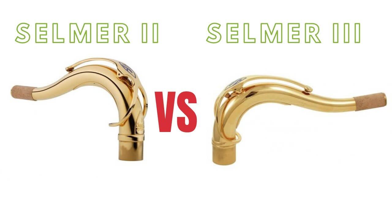 SAII vs Selmer III (testing tenor saxophone necks)