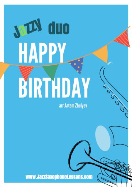Jazzy Happy Birthday