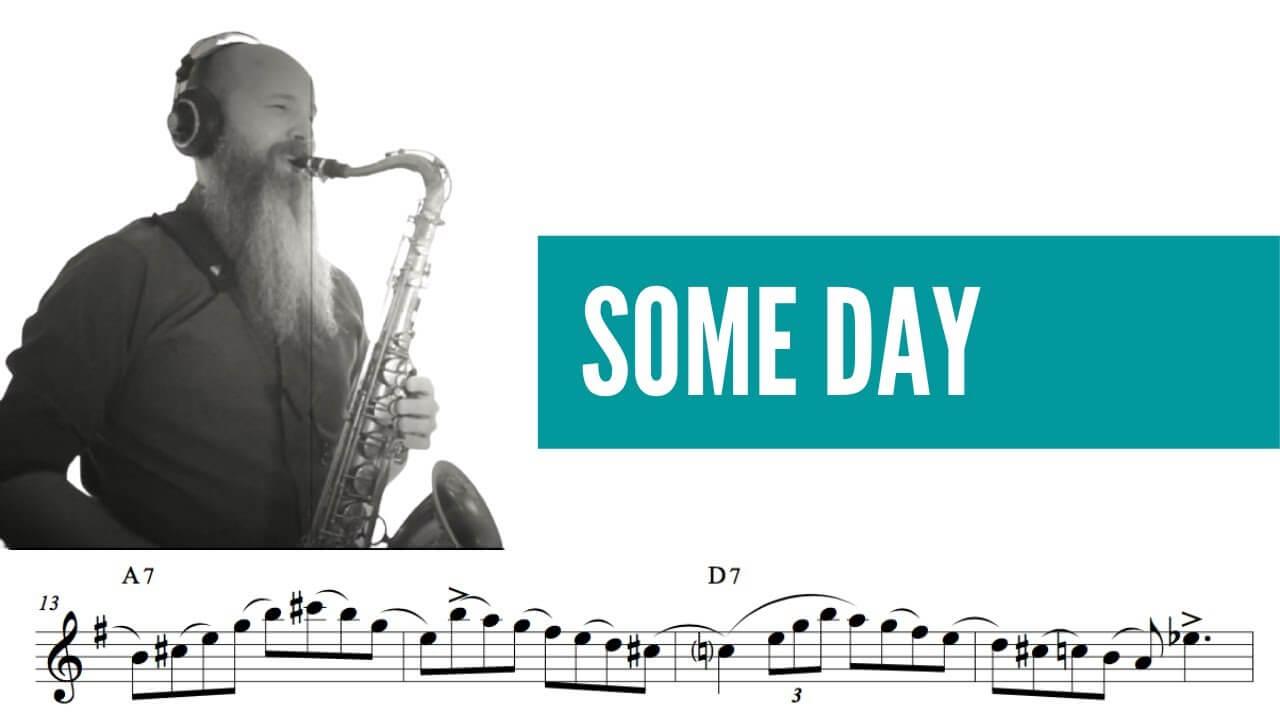 Some Day (Jazz Etude , Level: entermediate)